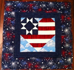 Getting back to quilting can be a small start, but it feels so good to accomplish something!