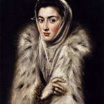 Lady In A Fur Wrap by El Greco
